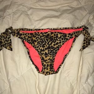 Victoria secret cheetah bikini bottom